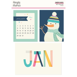 Simple Stories - Best Year Ever Sn@p cards