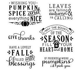 LDRS Creative - Happy Fall Sentiments