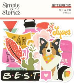 Simple Stories - Kate & Ash bits & pieces