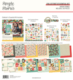 Simple Stories - Apron Strings collector's essential kit