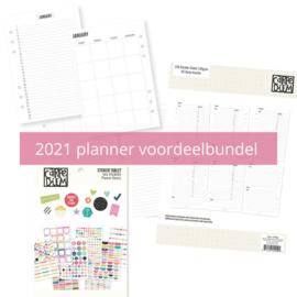 Carpe Diem A5 2021 planner voordeel bundel