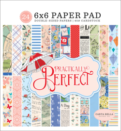 Carta Bella - Practically Perfect 6x6 paper pad
