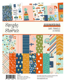 Simple Stories - Save Travels 6x8 paper pad