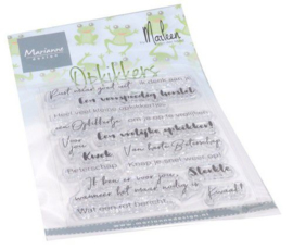 Marianne Design - Clear Stamps Opkikkers by Marleen (NL)
