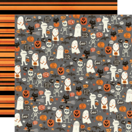 Simple Stories - Boo Crew Our Little Spooks Double Sided 12x12""