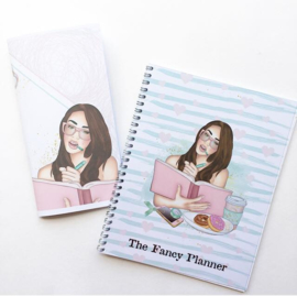 Miss Fancy Plans - Travelers Notebook (dotted)