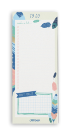 Feathers Magnetic To Do lIst Pad