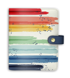 Rainbow Colour Wash Personal Planner