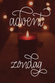 Advent zondag printable