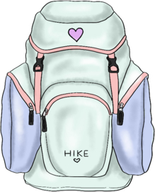 Hike stickers