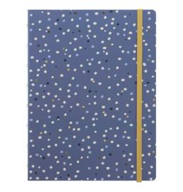 Notebook A5 Indigo Snow