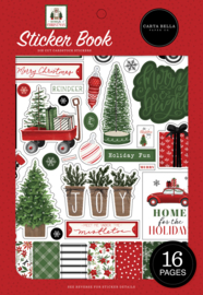 Echo Park - Home for Christmas stickerboek