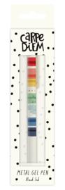 Rainbow Colour Wash Metal Gel Pen