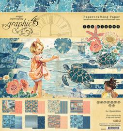 Graphic45 - Sun Kissed 8x8 paper pad
