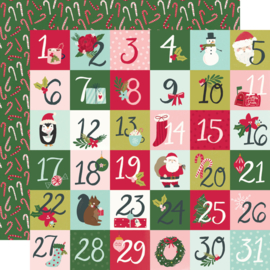 """Simple Stories - Holly Days 2x2 Elements Double Sided 12x12"""""""