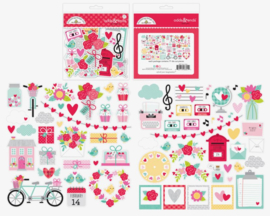 Doodlebug Love Notes Odds & Ends die cuts