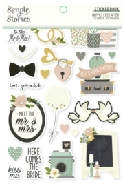 Simple Stories - Happily Ever After stickerboek