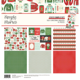 Simple Stories - Ugly Christmas Sweater collection kit