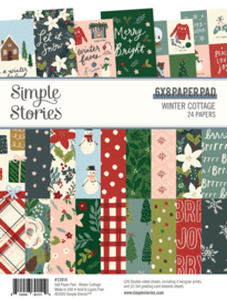 Simple Stories - Winter Cottage 6x8 paper pad