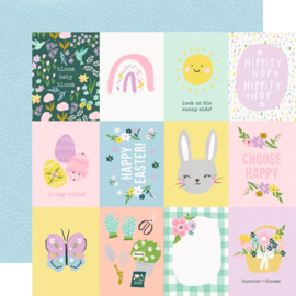 Simple Stories - Bunnies & Blooms 3x4 Elements Double Sided 12""