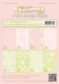 LeCrea - Spring Flowers pink/green
