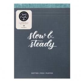 Kelly Creates slow & steady - dotted pad x50