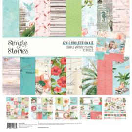 Simple Stories - SV Coastal collection kit 12x12