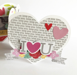 Hartentrio voor Valentijnsdag