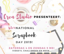Crea Studio presenteert: International Scrapbook Day 2019!
