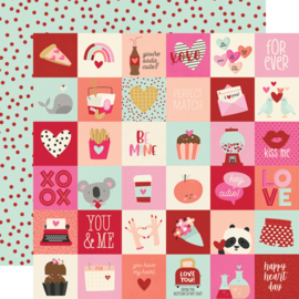 """Simple Stories - Sweet Talk 2x2 Elements double sides 12x12"""""""