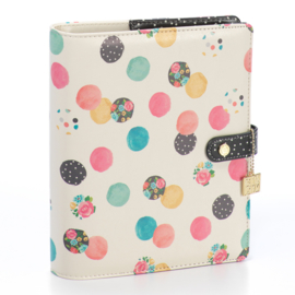 Carpe Diem A5 planner - Floral Multi Dot