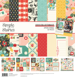 Simple Stories -Apron Strings collection kit 12x12