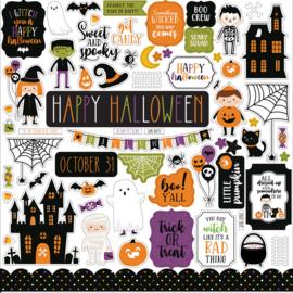 "Echo Park - Halloween Magic 12"" stickervel"