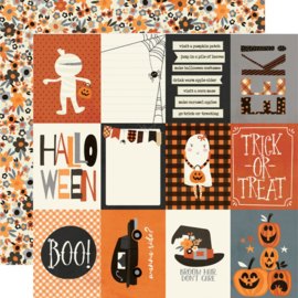 Simple Stories - Boo Crew 3x4 Elements Double Sided 12x12""