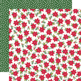 """Simple Stories - Holly Days Mistletoe Memories Double Sided 12x12"""""""