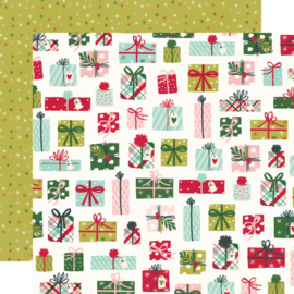 """Simple Stories - Holly Days No Peeking! Double Sided 12x12"""""""