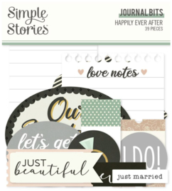 Simple Stories - Happily Ever After journal bits & pieces