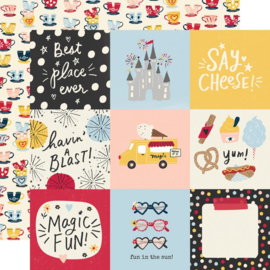 Say Cheese Main Street - 4x4 Elements 12x12 double sided paper