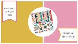 Carta Bella Pack Your Bags | Kijkje in de collectie