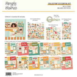 Simple Stories - Hello Today collector's essential kit