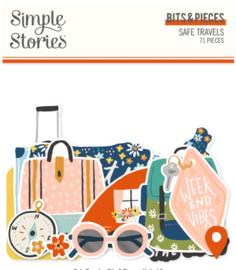 Simple Stories -Save Travels Bits & Pieces