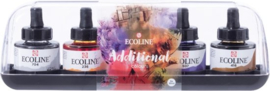 Ecoline additional set - 5 kleuren