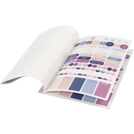 A5 stickerboek roze/paars