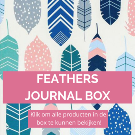 Feathers journal box