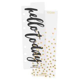 Carpe Diem Personal Bookmarks Gold
