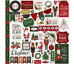 Echo Park - Here Comes Santa Claus