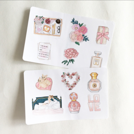 Self Love - deco stickerset