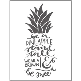 Pineapple embossing folder (11x14 cm)
