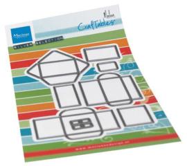 Marianne Design - Envelop Set by Marleen