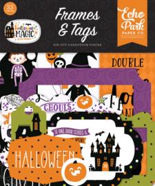 Echo Park - Halloween Magic frames & tags